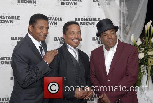Jackie Jackson, Marlon Jackson and Tito Jackson