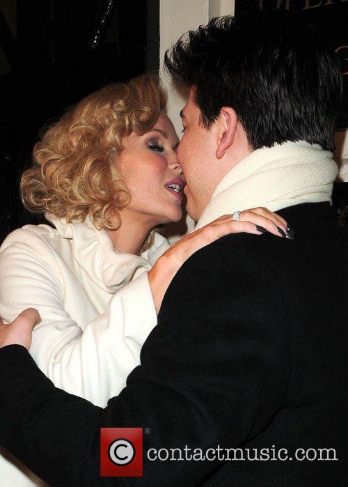 Amanda Holden and Michael Mcintyre