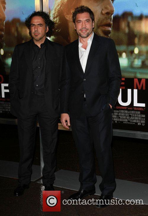 Alejandro Gonzalez Inarritu and Javier Bardem