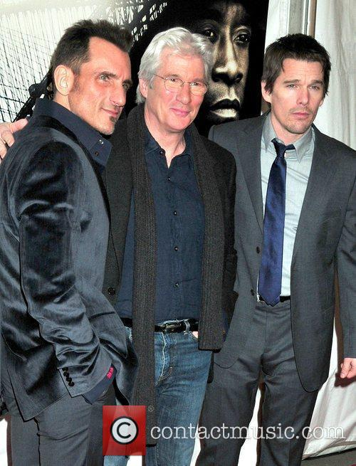 Wass Stevens and Richard Gere