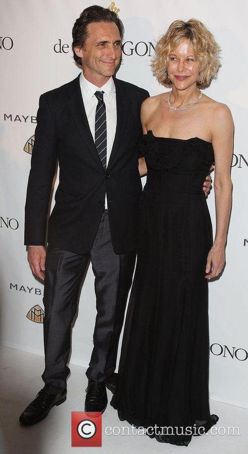 Lawrence Bender and Meg Ryan