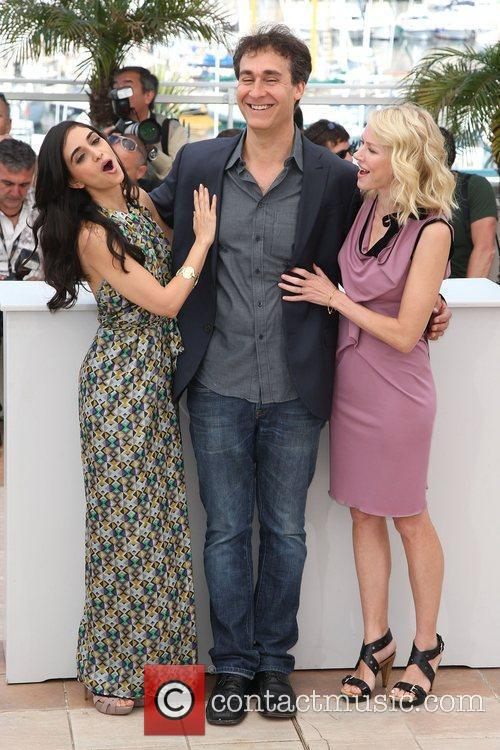 Doug Liman, Liraz Charhi and Naomi Watts