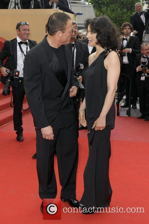 Jean Claude Van Damme and His Wife Gladys Portugues