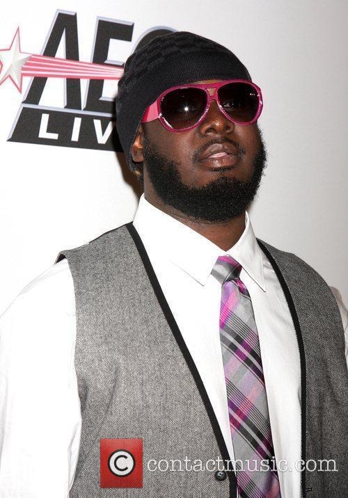 T-pain and Clive Davis 7