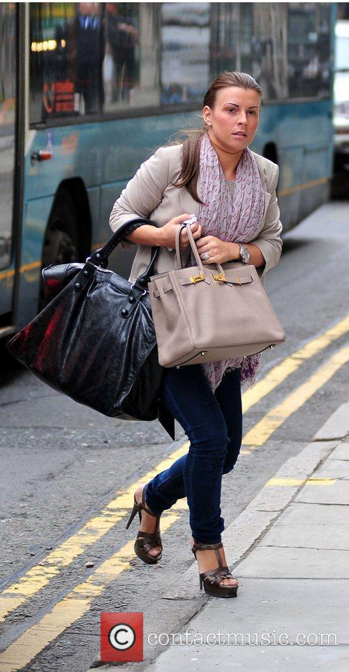 Coleen Rooney On Her Way Into Grey Space Photo Studio's To Do A Photo Shoot 4