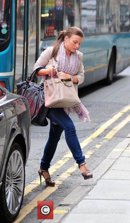 Coleen Rooney On Her Way Into Grey Space Photo Studio's To Do A Photo Shoot 1