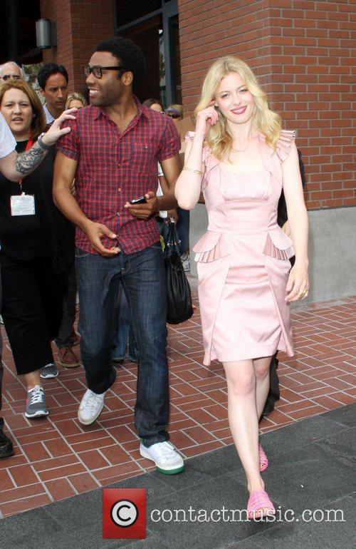 Donald Glover and Gillian Jacobs