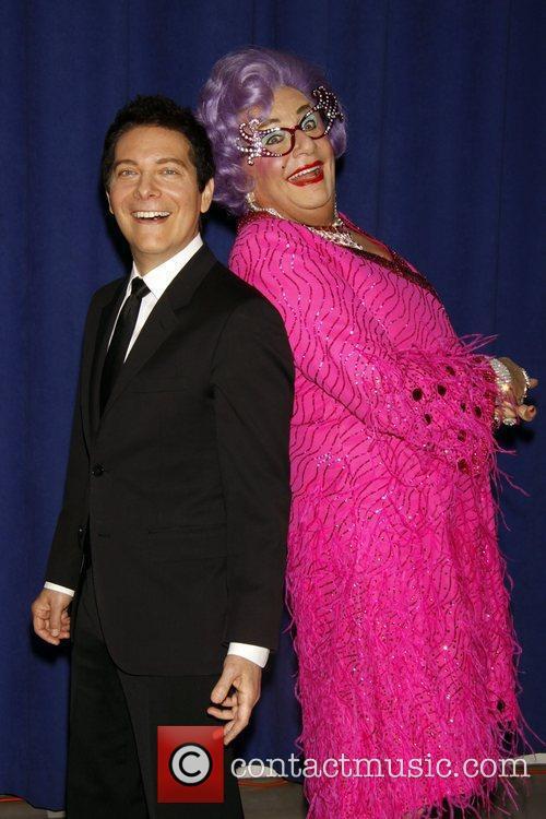 Dame Edna Everage and Michael Feinstein 11