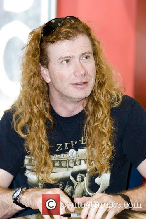 Dave Mustaine and Chicago 6