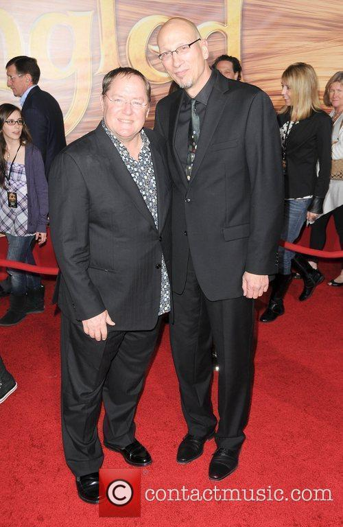 John Lasseter and Roy Conli