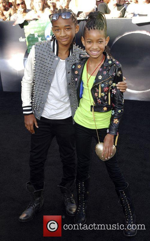 Jaden Smith and Willow Smith