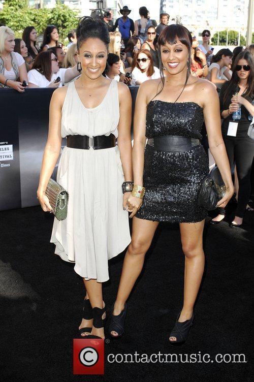 Tamera Mowry and Tia Mowry