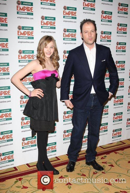 Chloe Moretz and Matthew Vaughn