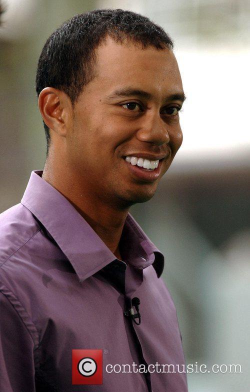 Tiger Woods and Elin Nordegren 1