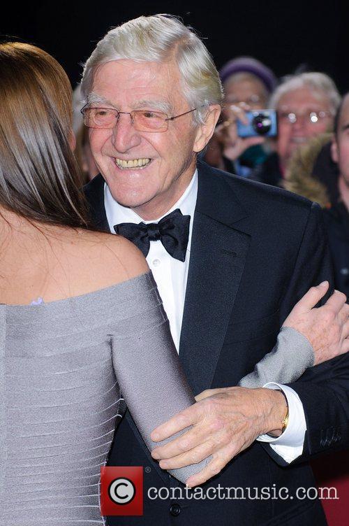 Carol Vorderman and Michael Parkinson