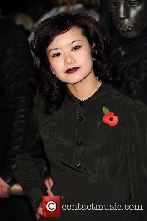 Katie Leung and Harry Potter
