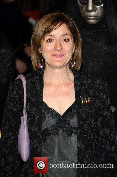 Sophie Thompson and Harry Potter