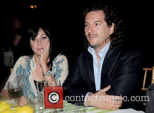 Shannen Doherty and Boyfriend Kurt Iswarienko