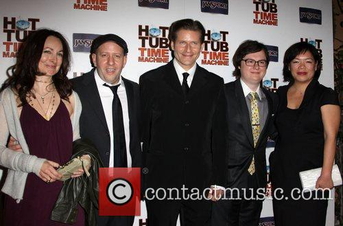 Crispin Glover, Clark Duke and Producers 9