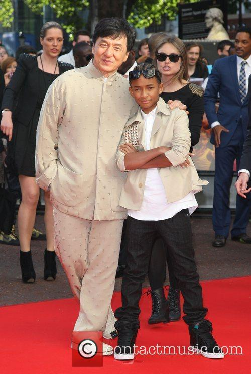 Jaden Smith and Jackie Chan 7