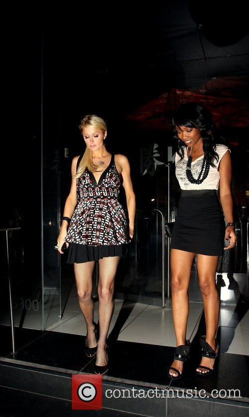 Paris Hilton, Brandy and Brandy Norwood 1