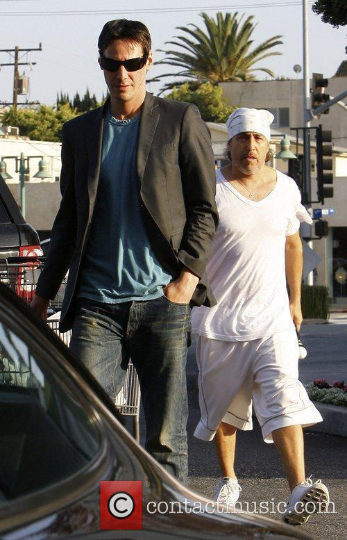 Keanu Reeves and A Friend 1
