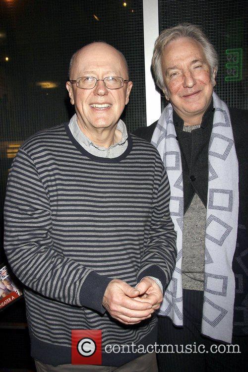Niall Buggy and Alan Rickman