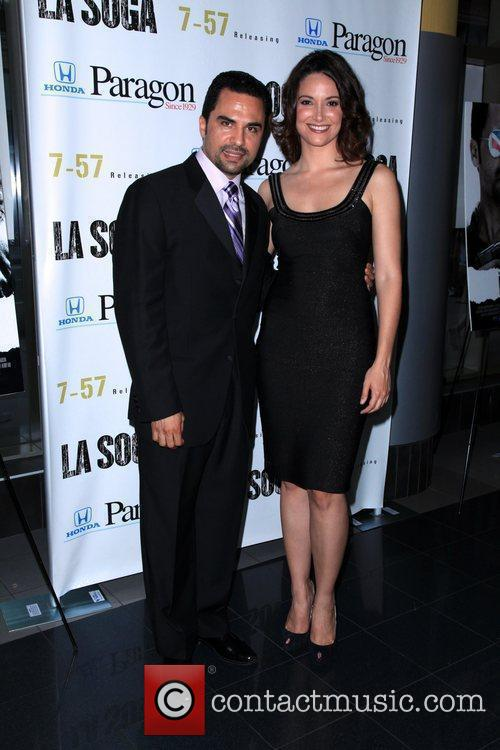 Manny Perez and Denise Quinones