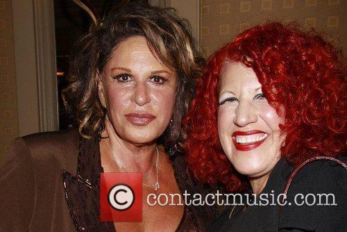 Lainie Kazan and Bette Midler