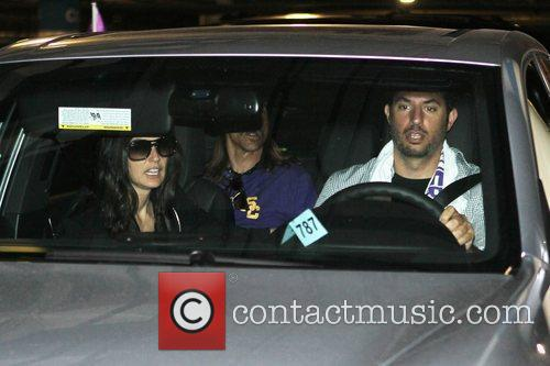 Demi Moore, Anthony Keidis and Guy Oseary