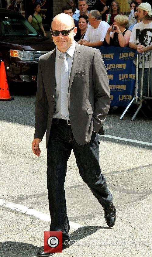 Rob Corddry and David Letterman 1