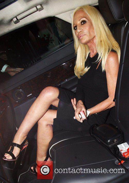 Donatella Versace, Mario Testino and Versace 2