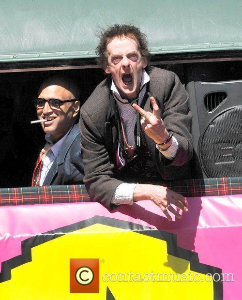 Malcolm Mclaren and Sex Pistols
