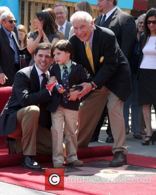 Mel Brooks, Son Max and Grandson Henry