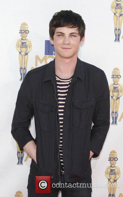Logan Lerman and Mtv