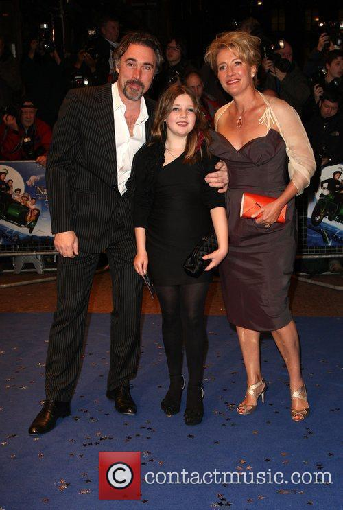 Greg Wise, Gaia Romilly Wise and Emma Thompson