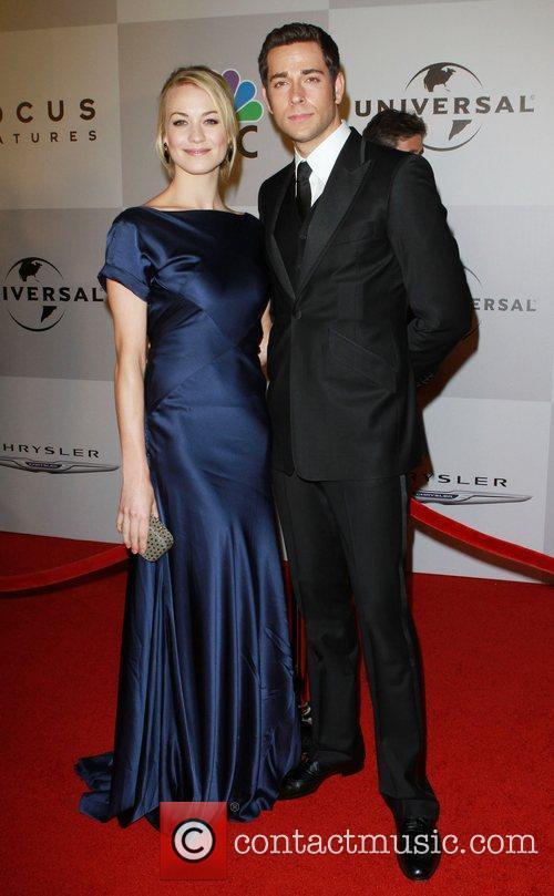 Yvonne Strahovski and Zachary Levi 8
