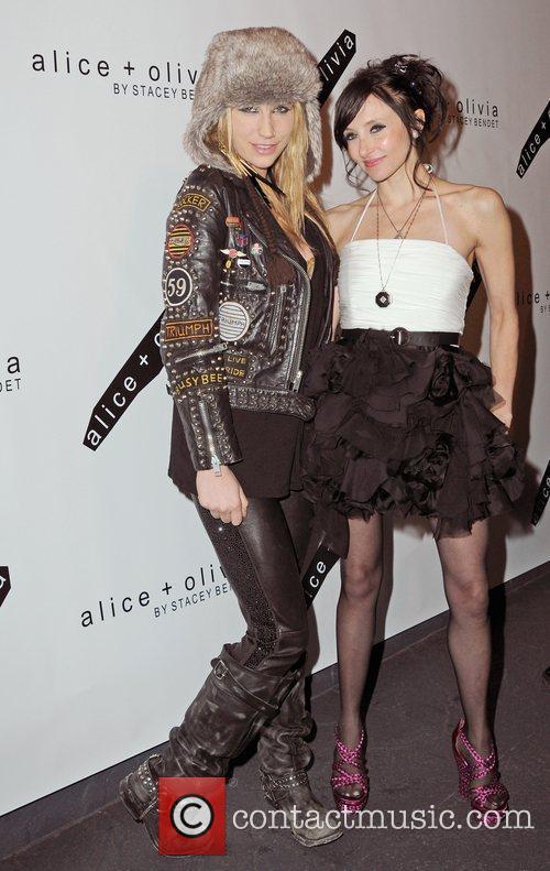 Kesha and Stacey Bendet
