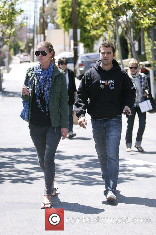 Nicky Hilton and Her Boyfriend David Katzenberg Leaving Fred Segal In West Hollywood 2