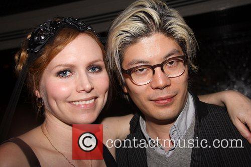 Nina Persson and James Iha