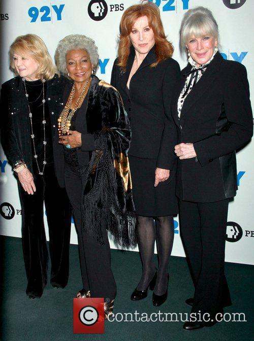 Angie Dickinson, Linda Evans, Nichelle Nichols and Stefanie Powers