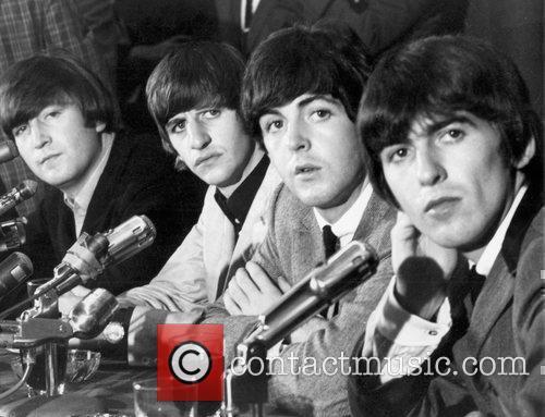John Lennon, George Harrison, Ringo Starr and Sir Paul Mccartney