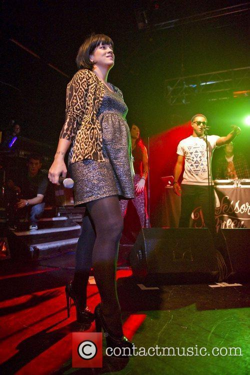 Lily Allen and Professor Green 11