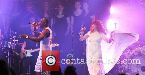 Dizzee Rascal and Florence Welch