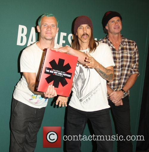 Flea, Anthony Kiedis, Chad Smith and Red Hot Chili Peppers 1