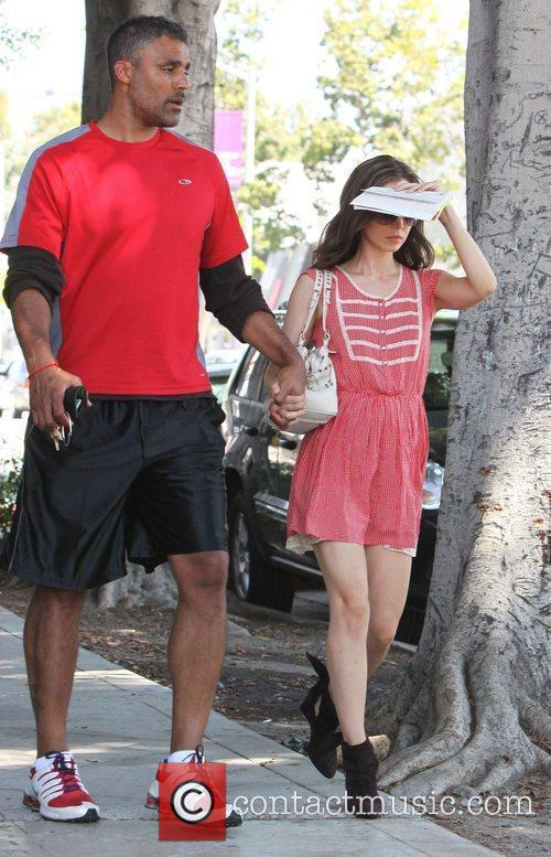 Rick Fox, Eliza Dushku and Slayer 1