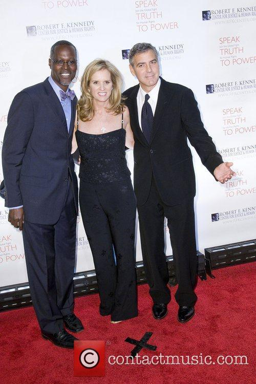 Kerry Kennedy, George Clooney, Justice and Robert F Kennedy 5