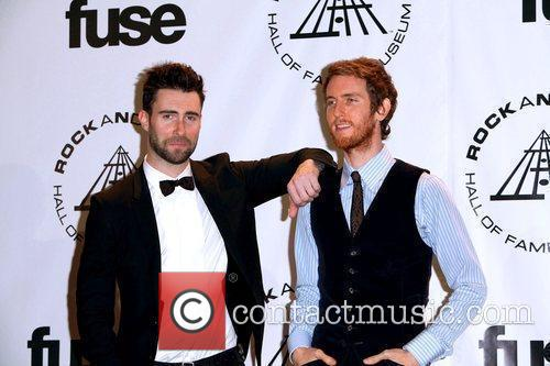 Adam Levine, Jesse Carmichael and Rock And Roll Hall Of Fame