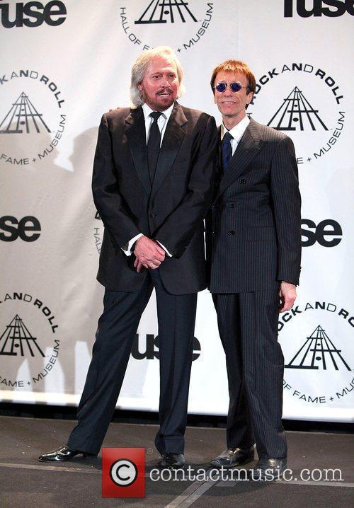 Barry Gibb, Bee Gees, Robin Gibb and Rock And Roll Hall Of Fame 1