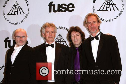 Inductees Phil Collins, Phil Collins and Rock And Roll Hall Of Fame 1